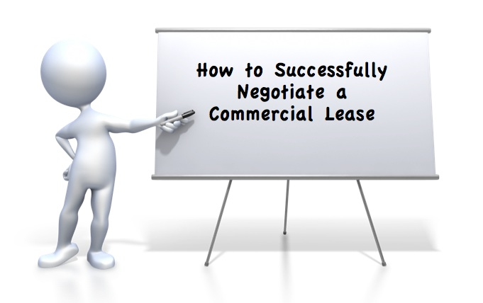 negotiate commercial lease