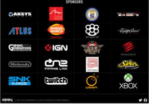 complete sponsor list for EVO 2014