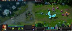 comparison of Dota 2 versus League of Legends