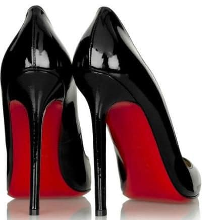 Louboutin, red sole
