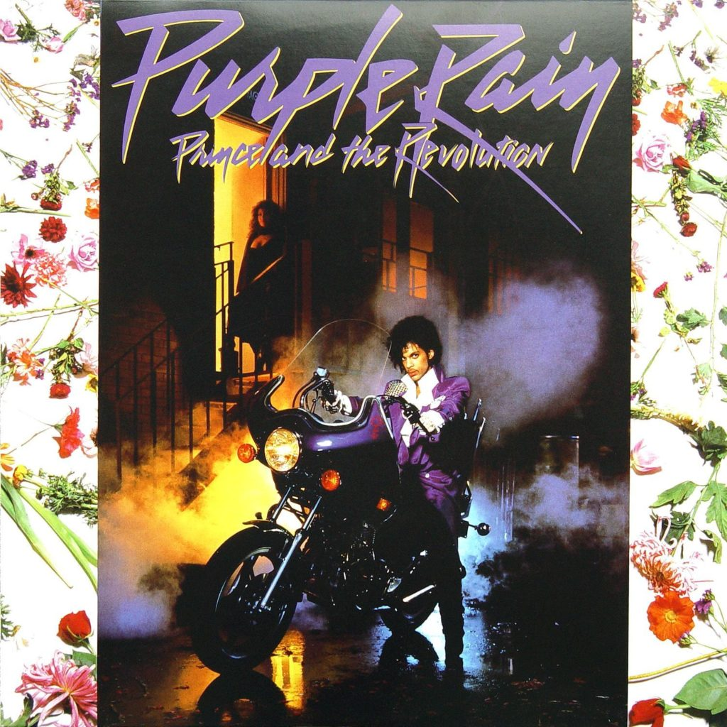 Prince's cover for the Purple Rain Album